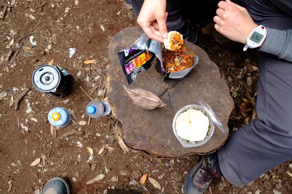 rongitoto-jedzenie